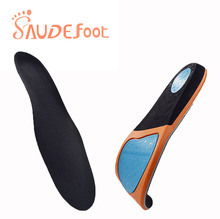 Saudefoot Shoe Insole Sneakers Cushion PU Damping Glue Ultra fine Velvet  Absorbing Memory Foam Increased Flexible Soft Shoe pad