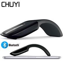 Mouse Bluetooth Wireless Arc Touch Mouse 1200DPI ottico pieghevole Mause Slim Notebook Mause Mouse per Computer ultrasottili per PC Microsoft