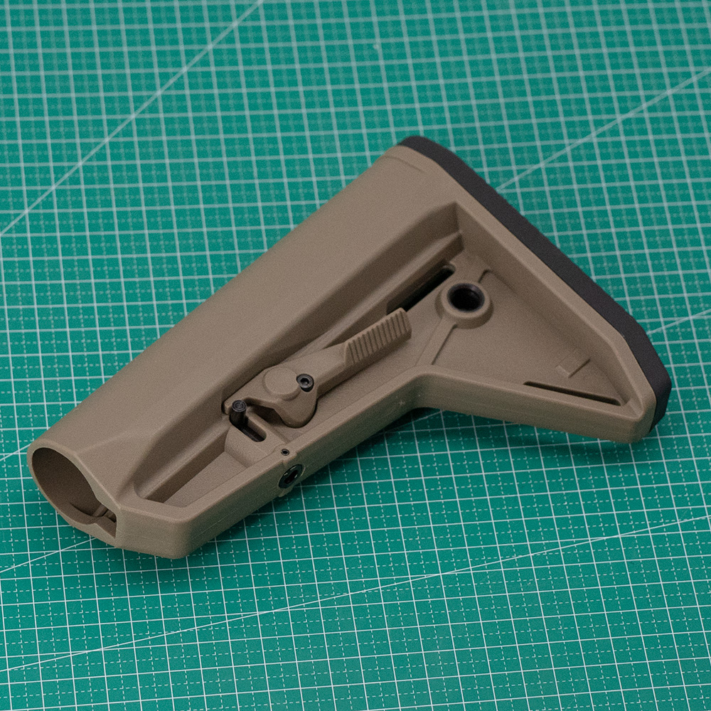 Image 2 - Outdoor Tactical Game Equipment for Airsoft Air Guns Jinming 8 Gen9 M4 AR15 Nylon Rear Butt Model Rifle Paintball AccessoriesPaintball Accessories   -