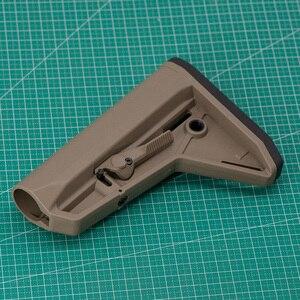 Image 2 - 屋外の戦術的なゲーム機器エアガン空気銃 jinming 8 Gen9 M4 AR15 ナイロンリアバットモデルライフルペイントボールアクセサリー