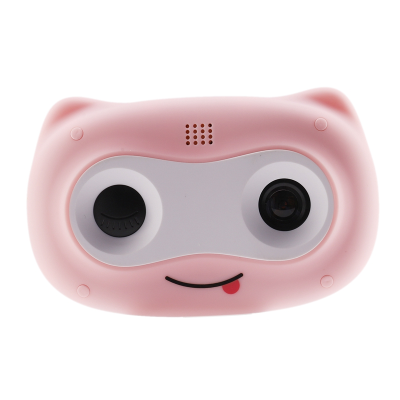 Kids Camera, Rechargeable Toy Camera Selfie Camera With Lanyard& 16GB Card, Gift For 3-8 Year Old Kids