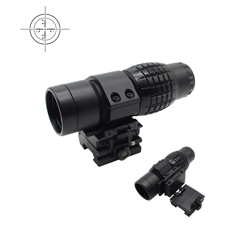 3x Plastic Telescope Plastic Sightseeing Tools Airsoft Hunting Bird Watching Accessories Durable Range Scope Magnifier Telescope
