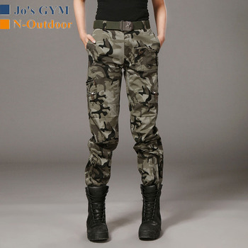 New Outdoor Hunting Hiking Tactical Pants Women Camping Trekking Fishing Travel Pants Camouflage Straight Tooling Trousers Sport new outdoor pants men women camping hiking mujer softshell pantalon hombre climbing camouflage thermal trekking hunting trousers