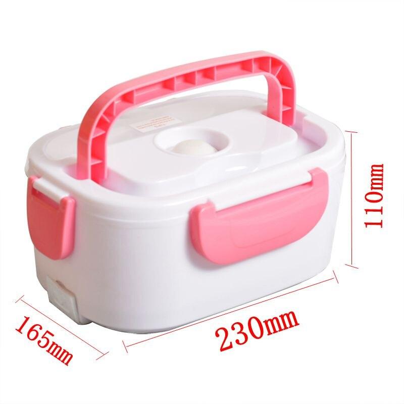 Портативный электрический 12V подогреваемый Ланч-бокс Bento коробки Авто еда Риса контейнер теплее для школы офиса дома столовая посуда
