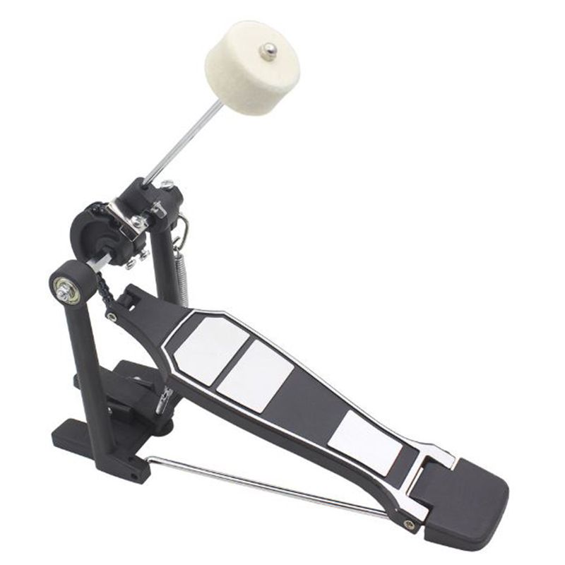 1Pc Drum Beater Felt Hammers Bass Kick Drum Hammer Beater Felt Pedal Beats For Percussion Stainless Steel  Drummer Instrument