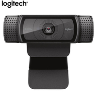 Logitech C920e HD Pro Webcam Widescreen Video Chat Recording USB Smart 1080p Web Camera For Computer C920 Upgrade Version CMOS