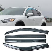 Для MAZDA CX-5 2011- окна автомобиля Защита от солнца и дождя козырьки щиток Защитная крышка Накладка рамка наклейка