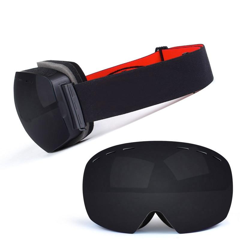 Ski Goggles UV400 Protection Snowboard Eyewear Anti-fog Big Ski Mask Glasses Snow Snowmobile Man Women Skiing Outdoor Sport 3