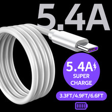 Summerfish 5A kabel USB typu C do Huawei P30 P20 Pro lite Mate20 10 Pro P10 Plus lite USB C typ C Super ładowarka biały kabel