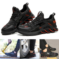 Hot Selling Safe Shoes Anti smashing Anti piercing Lightweight Breathable Deodorant Work Shoes B5