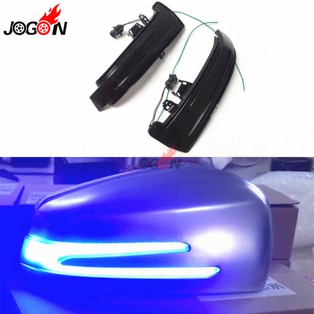 LED Dynamic Turn Signal Indicator Blinker <font><b>Light</b></font> Lamp For Mercedes <font><b>Benz</b></font> A B C E S CLA GLA CLS Class W176 W204 W212 X156 X204 <font><b>W221</b></font> image
