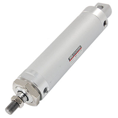 Bore 40mm Stroke 100mm Piston Rod Pneumatic Cylinder Connectors     - title=