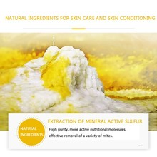 Эффективная очистка и увлажнение серное мыло для очищающая для лица жирной грязи баланс выделение жира мыло