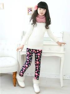 VEENIBEAR Girls Leggings Clothing Children Pants Velvet Warm Autumn Winter Kids Thicken