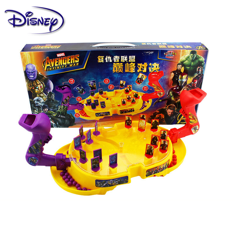 Disney Marvel Avengers Toys Double Interactive Battle Board Game Toys 7-10 Years Children's Puzzle Game Toys