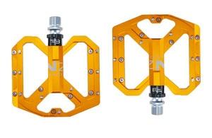 Image 2 - ENZO płaskostopie Ultralight pedały do rowerów górskich MTB stop aluminium CNC Sealed 3 łożyska antypoślizgowe pedały rowerowe części rowerowe