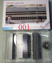 Airport Parts 1/400 Scale Airplane Passenger Terminal Boarding House Full Sets Building Model