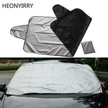 Автомобильная защита от снега, защита от льда, козырек, защита от солнца, передняя и задняя крышка на лобовое стекло, блочные щиты