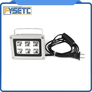 Image 2 - High Quality 110 260V 405nm UV LED Resin Curing Light Lamp for SLA DLP 3D Printer Photosensitive Accessories Hot sale