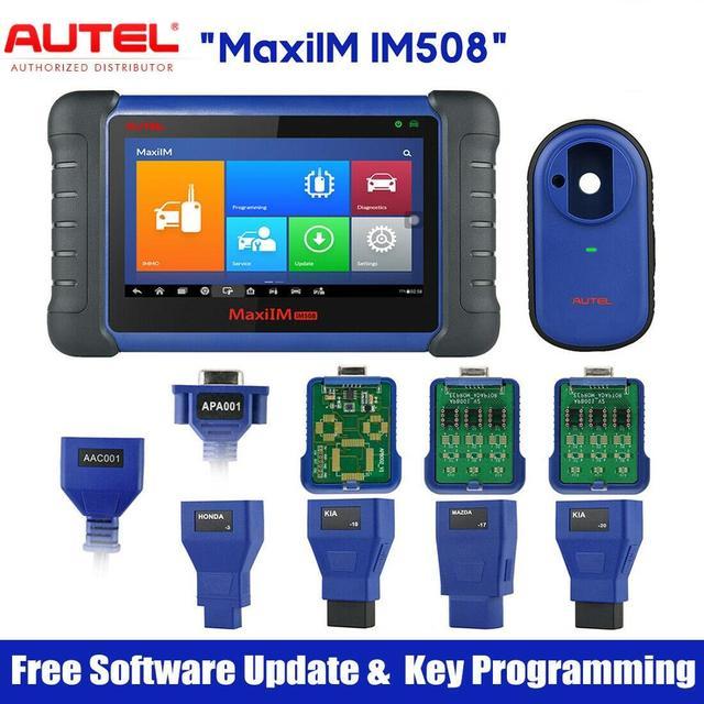 Autel MaxiIM IM508 Automotive Key Programming Scan Tool Car Diagnostic Scanner with OE Level All System Diagnosis Key Programmer