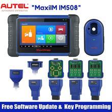 Autel – MaxiIM IM508 outil de programmation de clé de voiture, Scanner de Diagnostic de voiture avec niveau OE, tout système, programmateur de clé