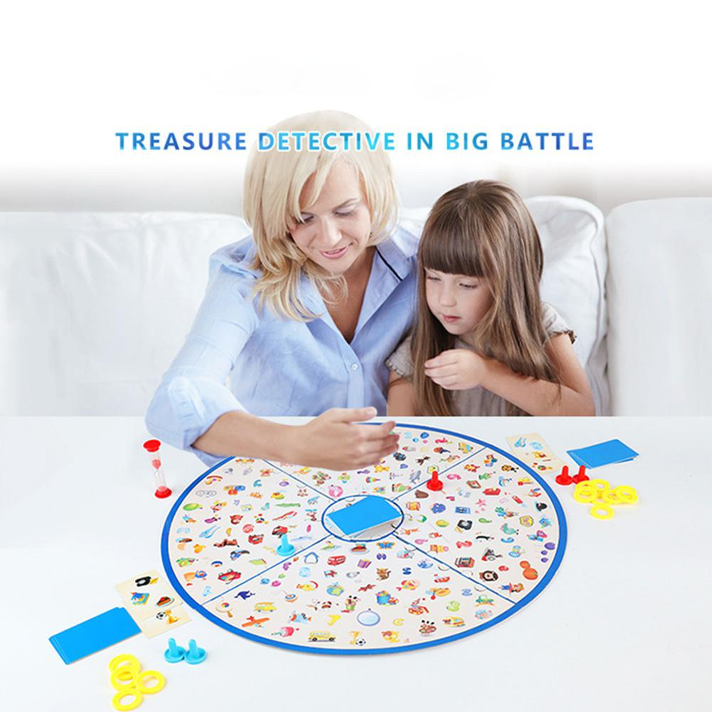 Observing Competition Parent-child Toy Intelligence Competition Interaction Finding Picture Game Early Education Toys Party Game image