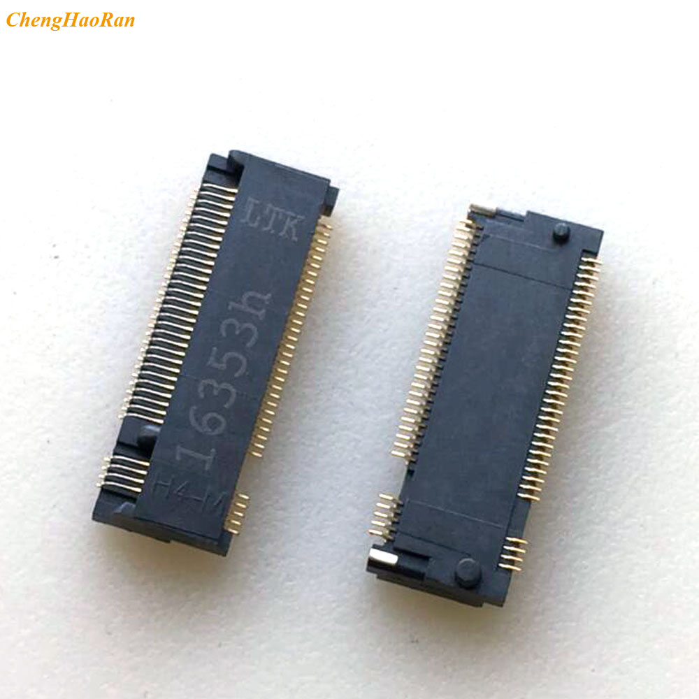 2pcs For Ngff M.2 Socket Outlet SSD Interface 67P M-KEY H3.2 4+5 Solid State Hard Disk Interface SSD FPC Connector 67Pin