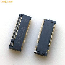 2 pces para ngff m.2 tomada ssd interface 67p M-KEY h3.2 4 + 5 de estado sólido disco rígido interface ssd fpc conector 67pin