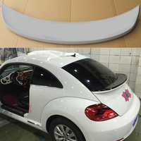 Beetle FRP Primer Rear Middle Trunk Lip Spoiler Wing for Volkswagen VW Beetle 2012 2015 Sport Version