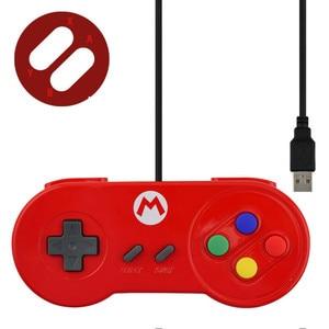 Image 3 - RETROMAX USB Bộ Điều Khiển Chơi Game Joystick Chơi Game Bộ Điều Khiển Cho Máy Nintendo SNES Chơi Game/Windows7/8/10/MAC Máy Tính điều Khiển Joystick