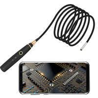 Mini LED sans fil imperméable tenu dans la main d'endoscope de WIFI de 3.9mm allumant la voiture Durable Flexible de Boroscope de caméra d'inspection de HD 720P
