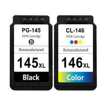 SanSeMei Замена для Canon PG 145 XL CL 146 XL чернильные картриджи для принтера IP2810 MG2410 MG2510 MG2910 MG3010 TS3110