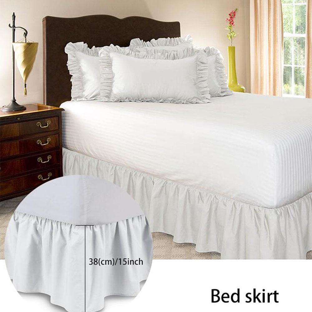 GloryStar Elastic Pleated Bed Skirt