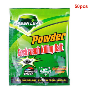 Image 3 - 50PCS/box Roach Trap Cockroach Killing Bait Home Effective Powder Repeller Garden Pest Control Killer Reject Supplies