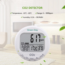 AZ7788 luchtkwaliteit monitor CO2 detector tester meter gas detector Thermometer hygrometer humity CO2 monitor gas Analyzer