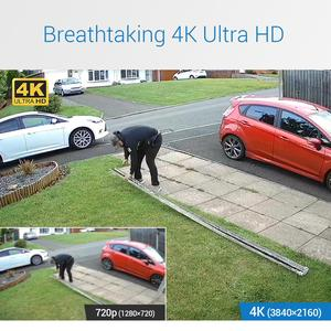 Image 2 - Annke H.265 4K 8CH Ultra Hd Cctv Surveillance Dvr 5IN1 Digitale Video Recorder Bewegingsdetectie Voor 5MP 8MP Analoge ip Camera