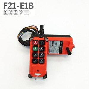 Image 2 - La velocità senza fili industriale f21 e1b 8 abbottona il telecomando F21 E1B della gru (1 trasmettitore + 1 ricevitore) per la gru