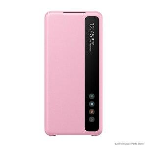 Image 5 - SAMSUNG funda de teléfono Original con tapa de espejo Vertical, EF ZG980 para Samsung Galaxy S20 S20Plus S20 Ultra S20 + 5G s view