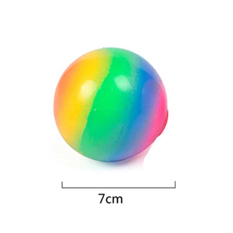 Fidget Toys 7cm Colorful Soft Foam TPR Squeeze Balls Toys for Kids Children Adults Stress img5
