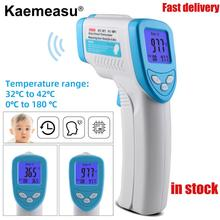 Non Contact Infrared Thermometer Forehead LCD Handheld  Laser Thermometer For Body Temperature 32℃~42℃