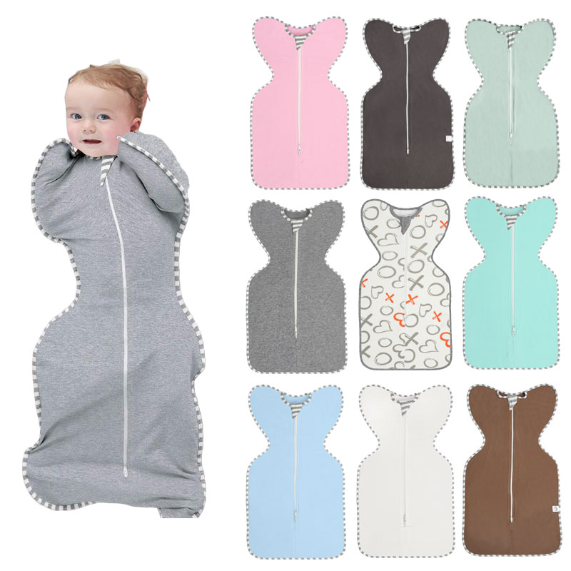 HereNice Newborn Baby Cocoon Pod Pebble Modeling Sleeping Bag Toddler Boy Sleepsack Infant Girl Kids Swaddle Sleep Sack