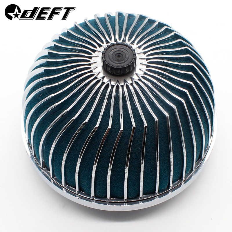 Behendige Universele 76 Mm Auto Luchtfilter Schoon Intake High Flow Ronde Cone Auto Air Intake Filter Inductie Kit Paddestoel hoofd