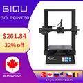 3D принтер BIQU B1 FDM, экран 3,5 дюйма, 32-битная плата, магнитная сборка, возобновление печати после сбоя питания, Impresora 3D VS Ender3 v2 для начинающих