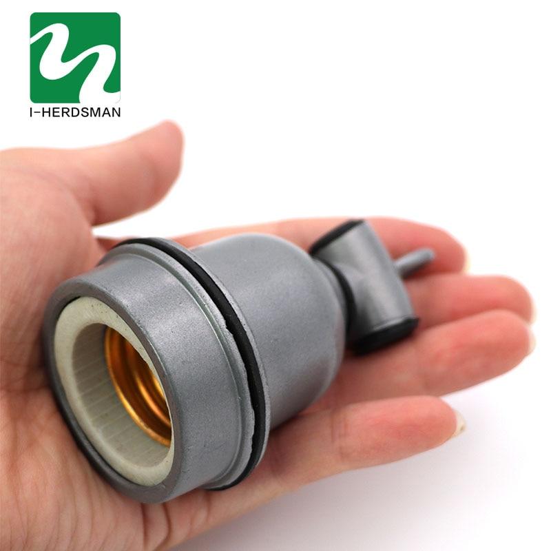 E27 Pet Heating Lamp Bracket With Lamp Holder Pet Reptile Ceramic Insulation Lamp Pet Hair Dryer Lamp Holder