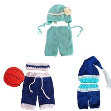 Outfits Photography-Props 0-3-Month Clothing Photo-Shooting Newborn Infants Baby Cap