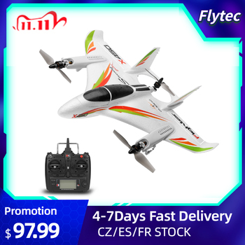 WLtoys XK X450 RC Airplane Brushless Motor 2.4G 6CH 3D/6G RC Plane Vertical Takeoff LED RC Glider Fixed Wing Aircraft RTF недорого