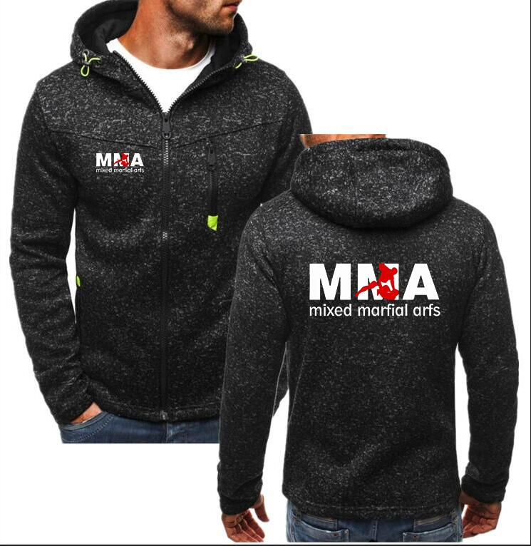 2018 New Winter Fashion Boxing Hoodie UFC Unlimited MMA Mannen Hoodie Men Zipper Cardigan Hoodie Sweatshirts Casual Coat Tops