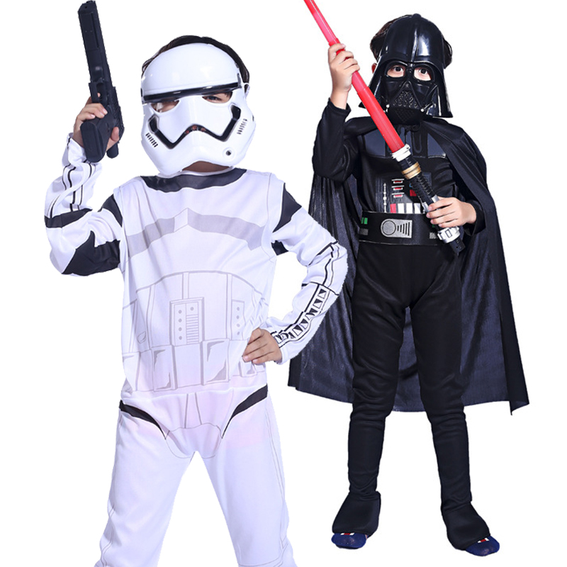 Clone Troopers Force Awakens Kylo Ren Costume Kids Costumes Stormtrooper Darth Vader Fancy Dress Children Halloween For Boys