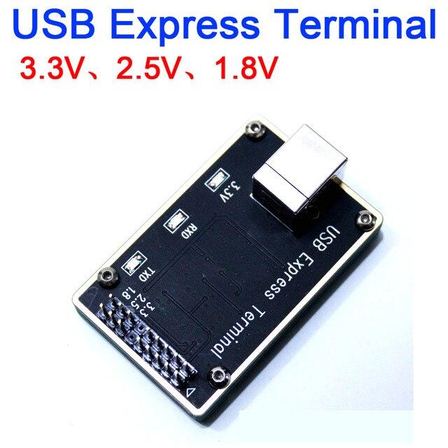 USB اكسبرس محطة عالية السرعة محطة COM نقل الجهد: 3.3 فولت ، 2.5 فولت ، 1.8 فولت متوافق PC3000 و MRT