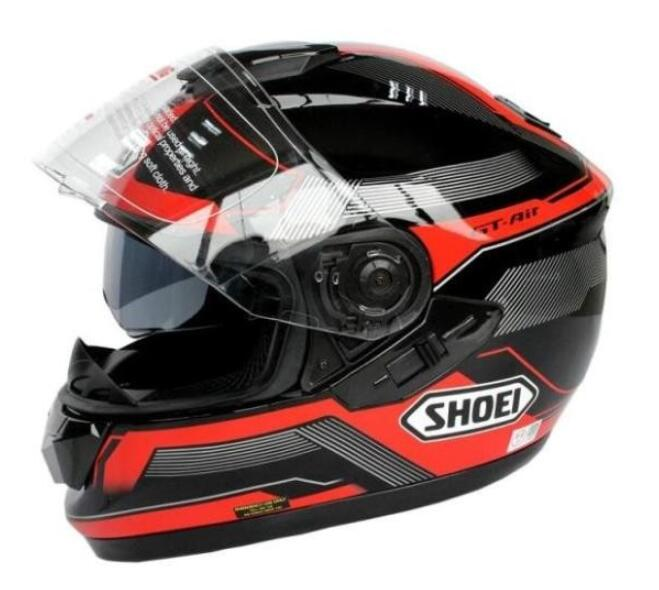 New NO.1 Motor Motorcycle Hat Full Face Dual Lens Genuine Abs+Pc Material Safety Helmet ECE 74  93 HAT Helmet